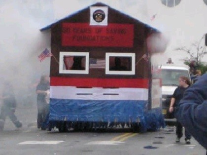 Fire Department Parade Float