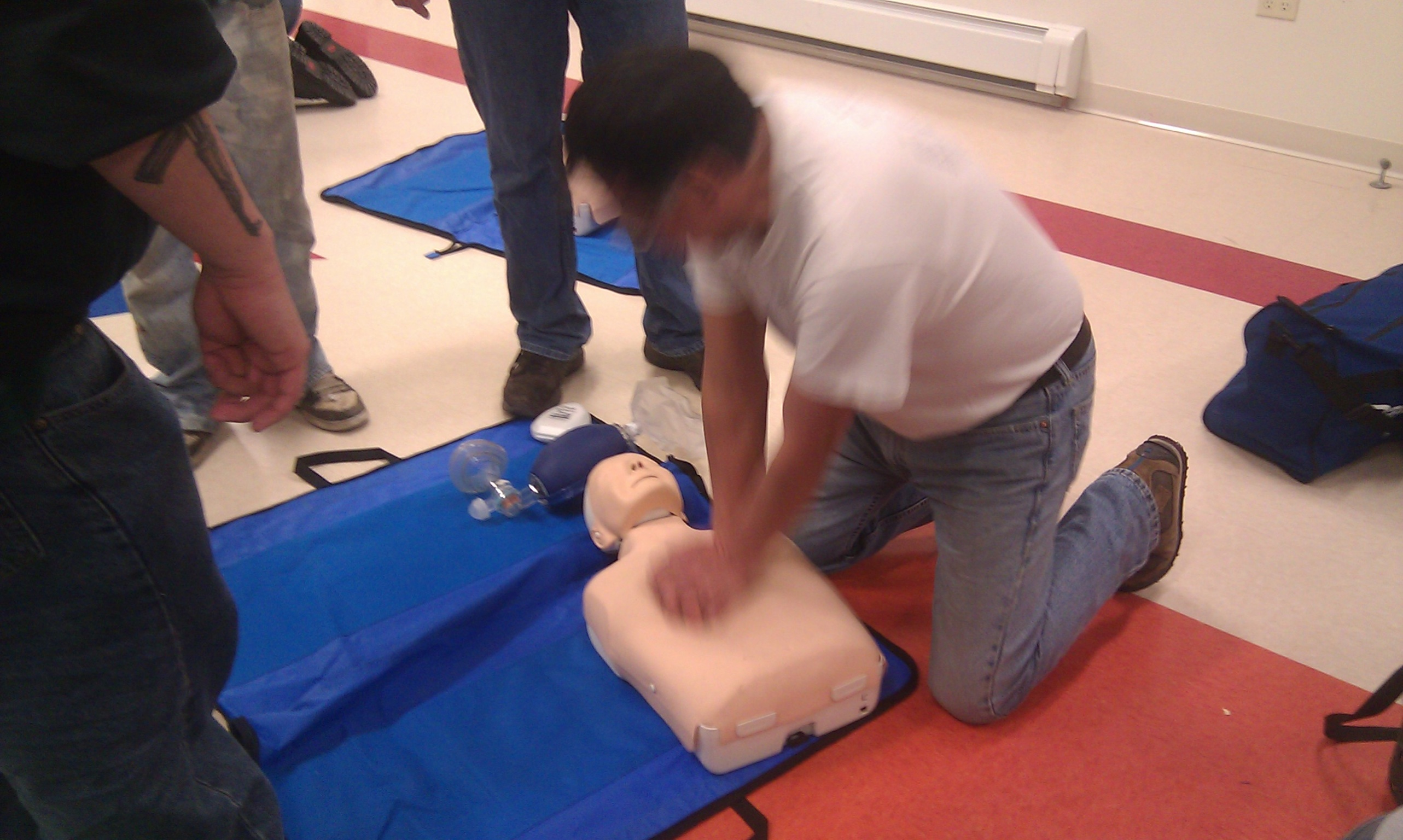 STVFD CPR Training 2014~3