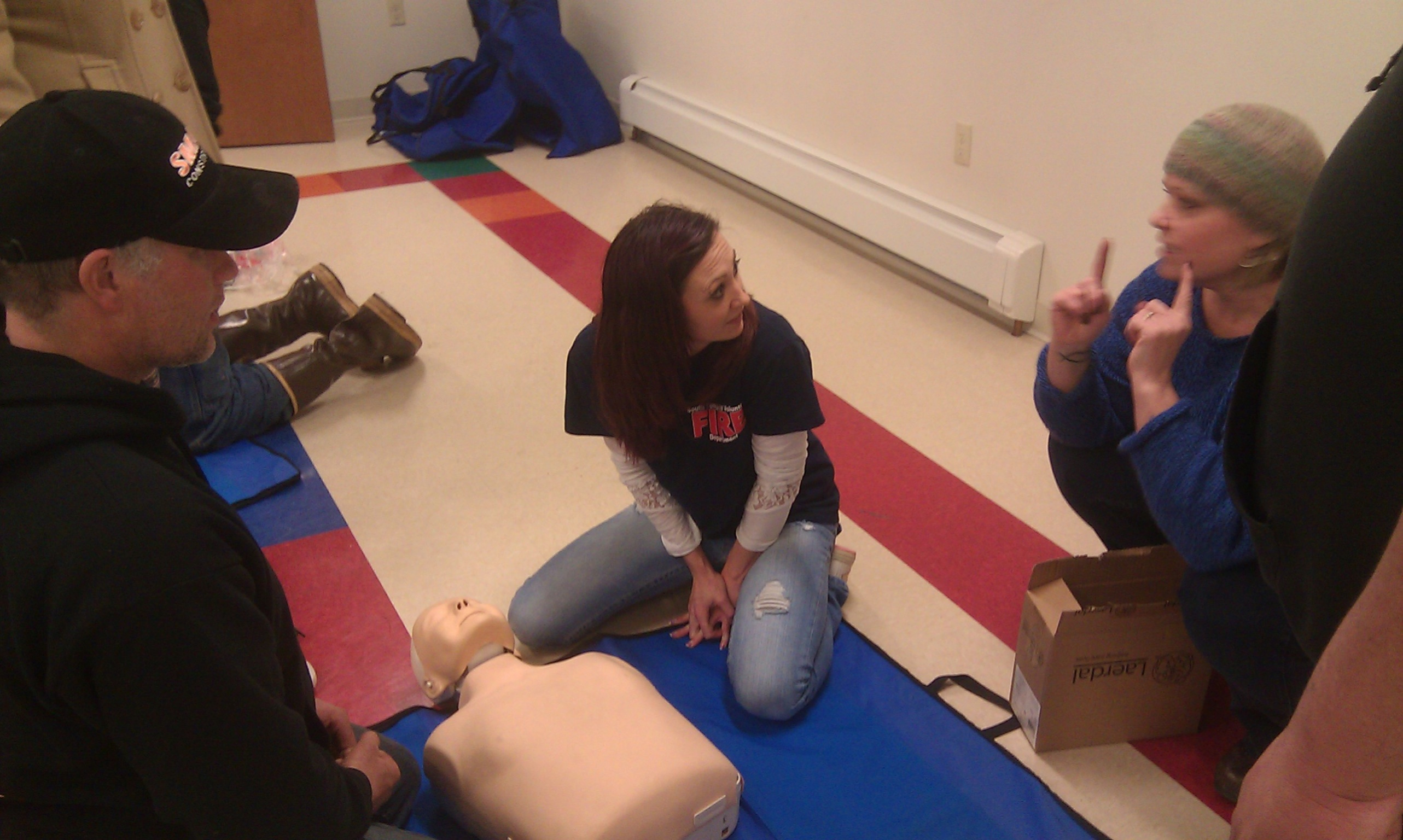 STVFD CPR Training 2014~4