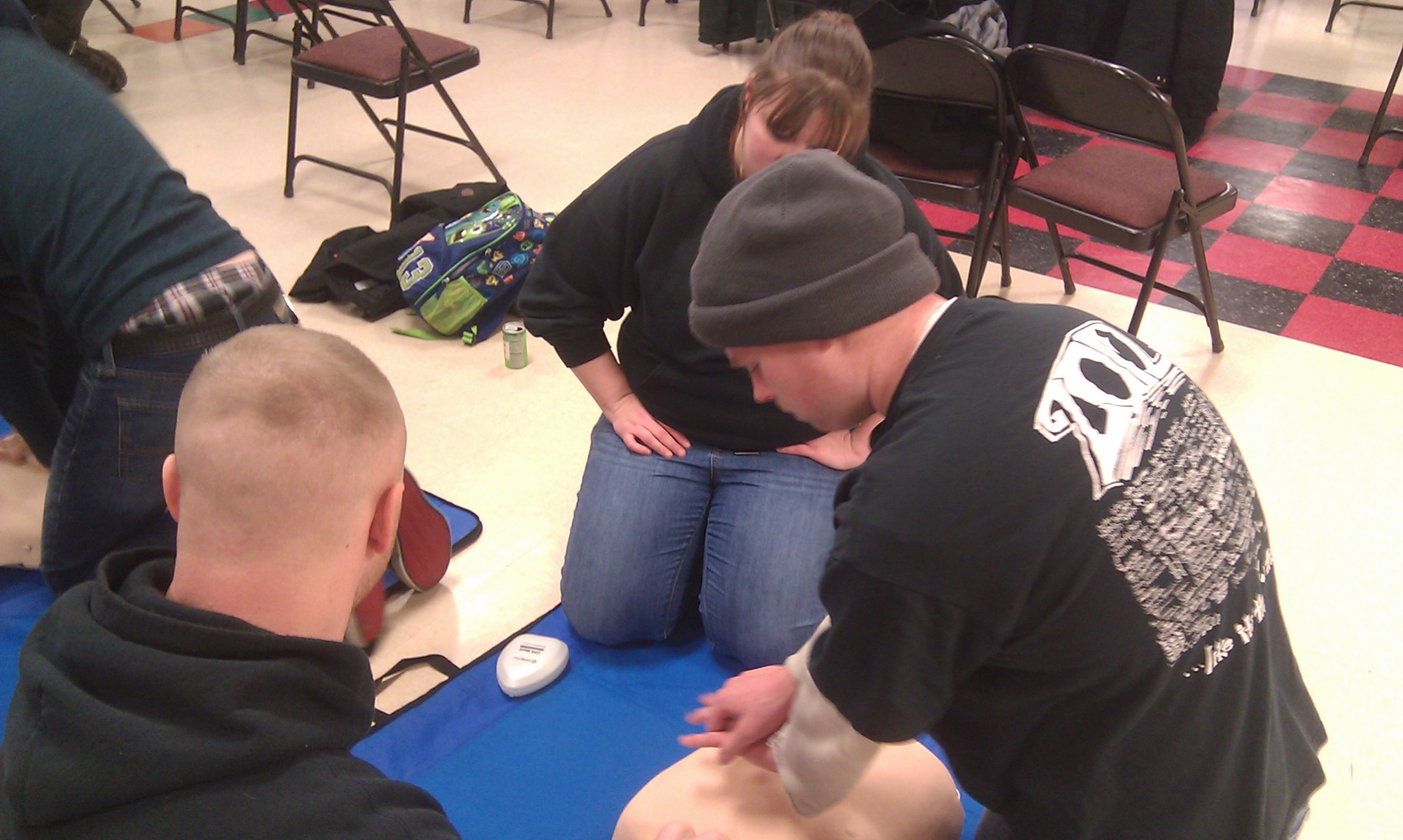 STVFD CPR Training 2014~6
